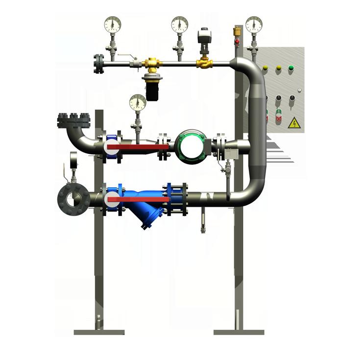 Блок автоматизации теплового пункта для замены элеватора