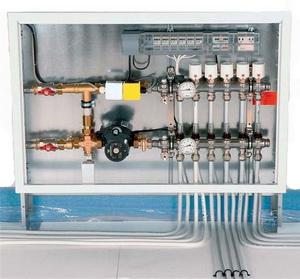 Узел управления Индивидуальной системой отопления встроенного магазина