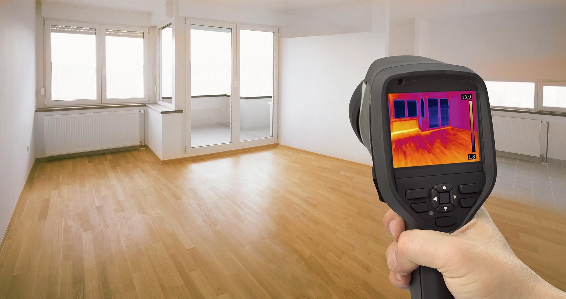 Тепловизионное обследование здания, помещения, квартиры, дома